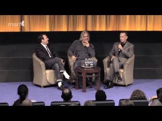 Капитан Филлипс Q&A с Томом Хэнксом, Полом Гринграссом и Джонатаном Россом. Часть 1